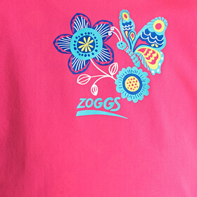 Zoggs Wild Zip Sun Top Mädchen pink/multi